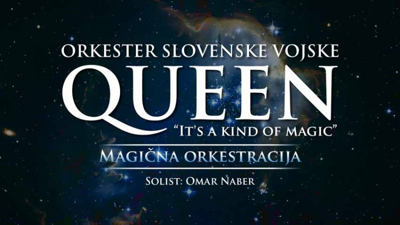 Ulaznice za Orkester SV & Omar Naber  QUEEN – IT'S A KIND OF MAGIC, 21.10.2019 u 19:30 u Gallusova dvorana