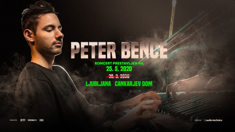 Tickets for Peter Bence, 25.05.2020 um 20:00 at Gallusova dvorana