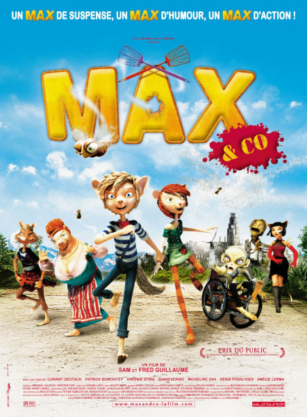 Tickets for Max in prijatelji (12+), 27.09.2020 on the 17:00 at Kinoteka