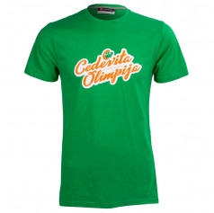 T-shirt retro writing Cedevita Olimpija
