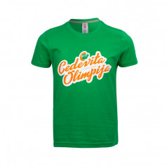 Children's T-shirt retro writing Cedevita Olimpija