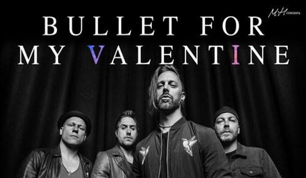 Tickets for BULLET FOR MY VALENTINE, 01.04.2019 on the 20:00 at Kino Šiška