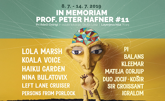 Tickets for Festival In Memoriam prof. Peter Hafner, 08.07.2019 um 00:00 at Letni vrt pri Rdeči Ostrigi, Škofja Loka