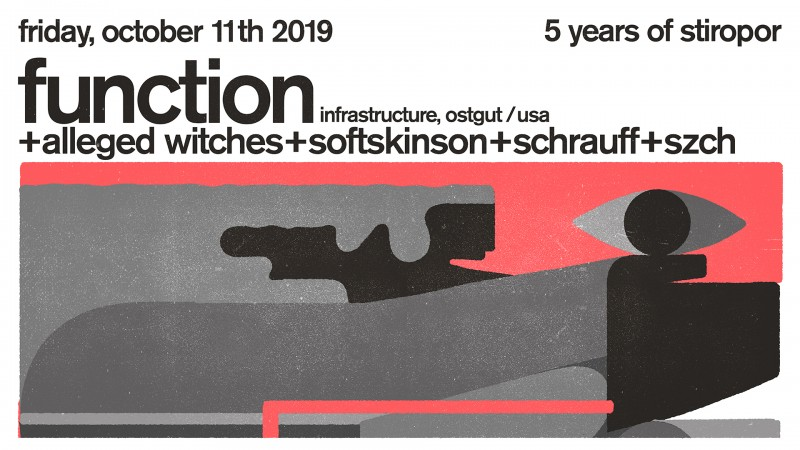 Biglietti per 5yrs of Stiropor w/ FUNCTION, 11.10.2019 al 23:00 at Bar Božidar, Ljubljana