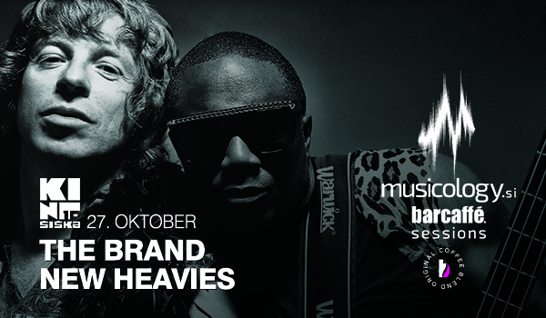 Biglietti per Musicology Barcaffe Sessions: THE BRAND NEW HEAVIES, 27.10.2019 al 20:00 at Kino Šiška, Ljubljana