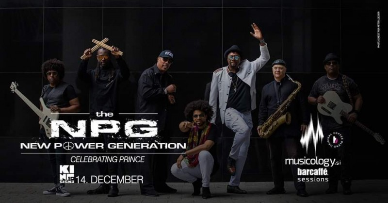Biglietti per Musicology Barcaffe Sessions: THE NEW POWER GENERATION CELEBRATING PRINCE, 14.12.2019 al 21:00 at Kino Šiška, Ljubljana