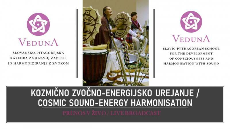 Tickets for Veduna Cosmic Sound-Energy Harmonisation - LIVE STREAM			, 11.06.2020 on the 18:30 at Prenos v živo - Internet