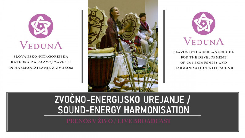Biglietti per Package of three Veduna Sound-Energy Harmonisations - LIVE STREAM, 05.11.2020 al 19:00 at Prenos v živo - Internet