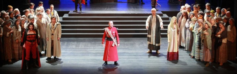 Tickets for Nabucco, 20.12.2019 um 19:00 at SNG Opera in balet