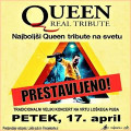 ODPOVEDANO: QUEEN REAL TRIBUTE - 17. april 2020 ob 21. uri