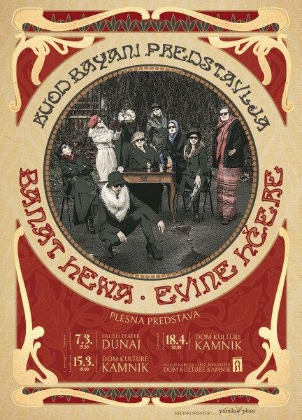 Tickets for KUOD Bayani: Banat Hewa - Evine hčere, 18.04.2020 on the 20:00 at Dom kulture Kamnik