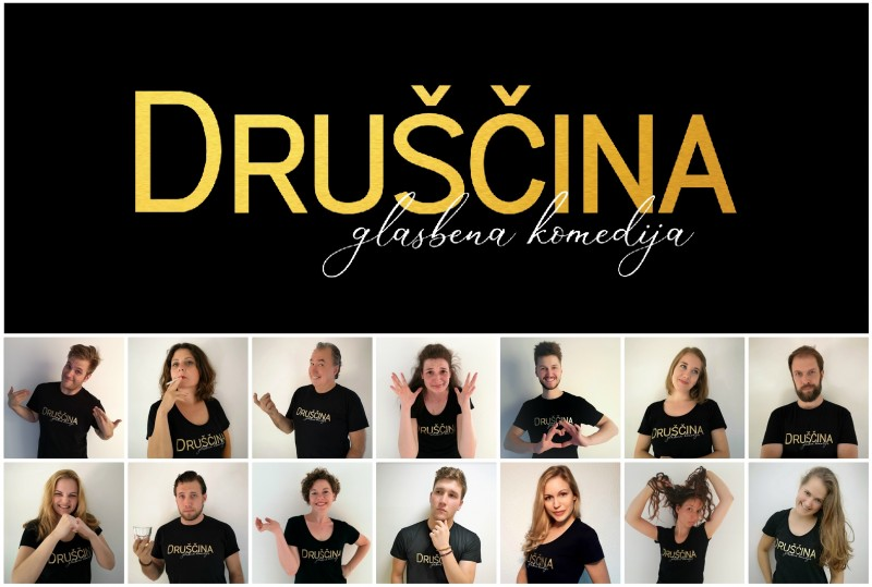 Tickets for DRUŠČINA, 13.10.2019 on the 20:00 at Kulturni dom Radomlje (Prešernova cesta 43, Radomlje)