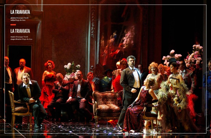 Tickets for LA TRAVIATA, 31.12.2019 on the 17:00 at Velika dvorana
