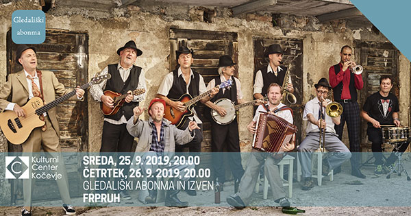 Tickets for Frpruh in Matjaž Javšnik, 25.09.2019 um 20:00 at Dvorana KCK Kočevje