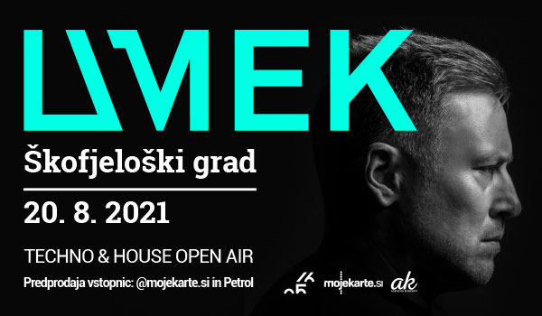 Tickets for UMEK, 20.08.2021 on the 21:00 at Škofjeloški grad