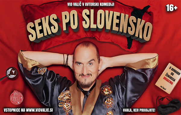 Tickets for VID VALIČ: Seks po slovensko, 17.11.2019 on the 19:00 at Celjski dom, Celje