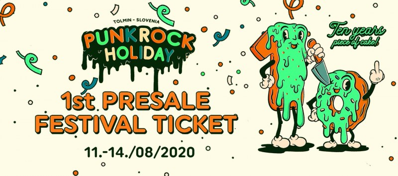 PUNK ROCK HOLIDAY X (2.0) 1st PRESALE FESTIVAL TICKET