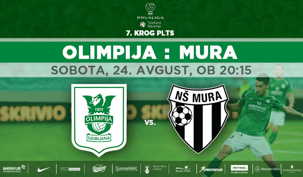 Tickets for NK Olimpija Ljubljana : NŠ Mura, 24.08.2019 um 20:15 at Stadion Stožice