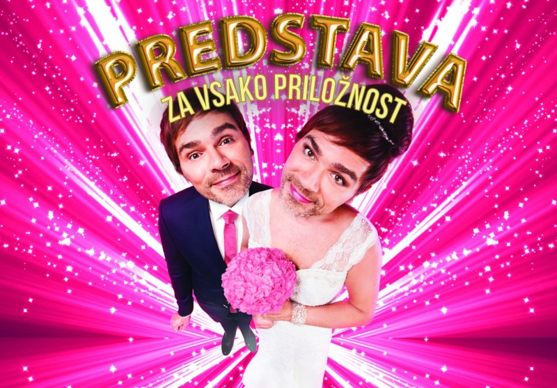 Tickets for Predstava za vsako priložnost, 19.12.2019 on the 20:00 at SiTi Teater BTC